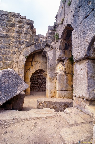 "Nimrod Fortress 1230 AD<br /> Inscription Over Gate Reads: ""Suliman The Magnificent Passed Through This Gate""<br /> North Israel"