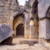 """Nimrod Fortress 1230 AD<br /> Inscription Over Gate Reads: """"Suliman The Magnificent Passed Through This Gate""""<br /> North Israel"""