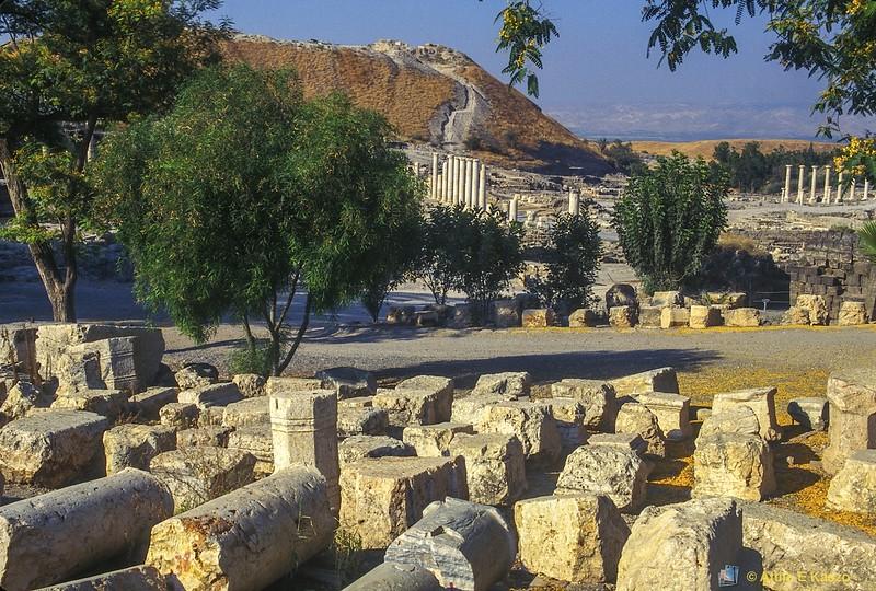 Roman Ruins 2Cent.<br /> Bet Shean, Israel