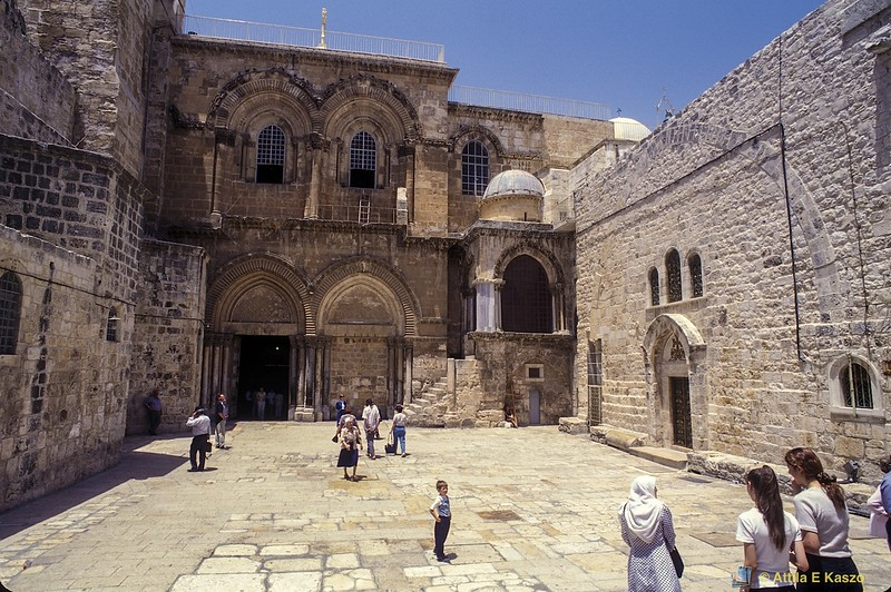 Church of the Holy Sepulchre<br /> Jerusalem, Israel