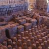 Roman Baths - Foundation Heating<br /> Bet Shean, Israel