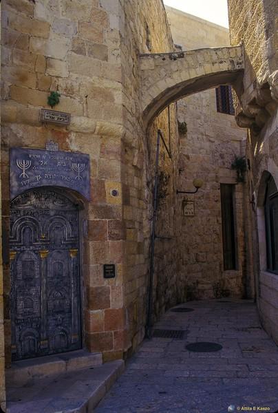 Alley<br /> Mt Zion, Jerusalem, Israel