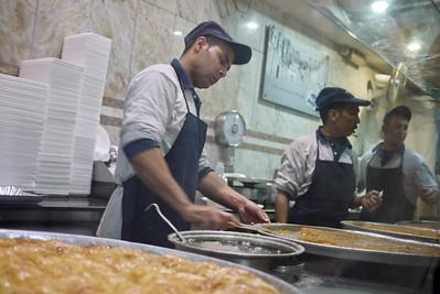 Habiba, a famous sweets spot in Amman, Jordan
