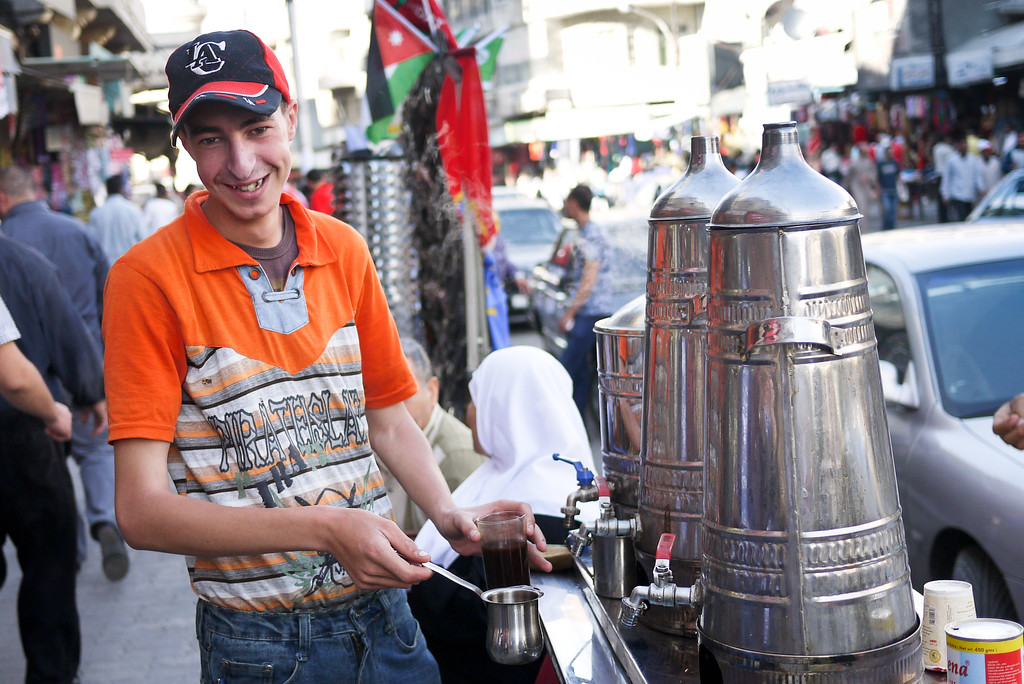 Coffee in Amman, Jordan