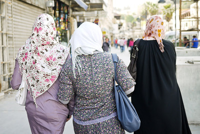 Walking the streets of Amman, friendship is front and center. in Amman, Jordan