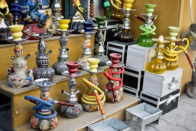 Shisha pipes in Amman, Jordan