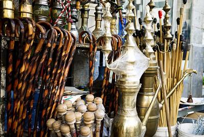 A colorful shop in Amman, Jordan
