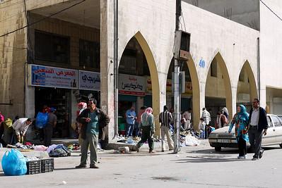 Street markets in Amman, Jordan
