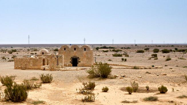Quseir Amra UNESCO site