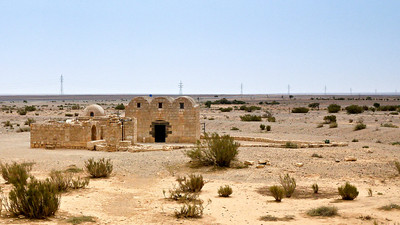 UNESCO World Heritage site, Quseir Amra is filled with beautiful, well-preserved frescoes.