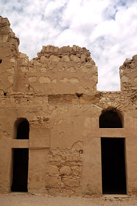Desert castle architecture.