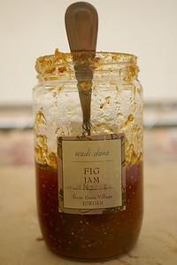 Delicious local fig jam in Jordan