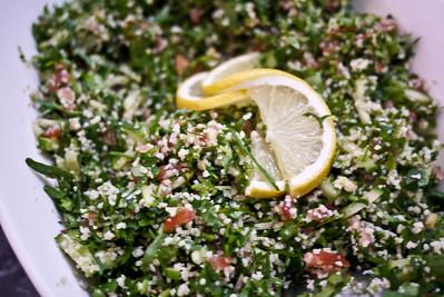 Tabbouleh salad in Jordan