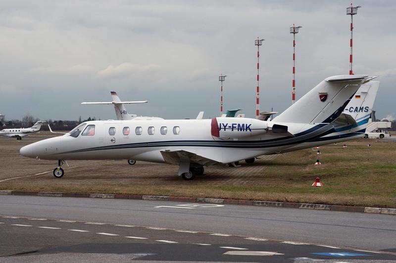 JY-FMK Cessna 525A Citation Jet 2 c/n 525A-0168 Dusseldorf/EDDL/DUS 25-02-10