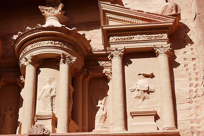 The Treasury in Petra, Jordan.