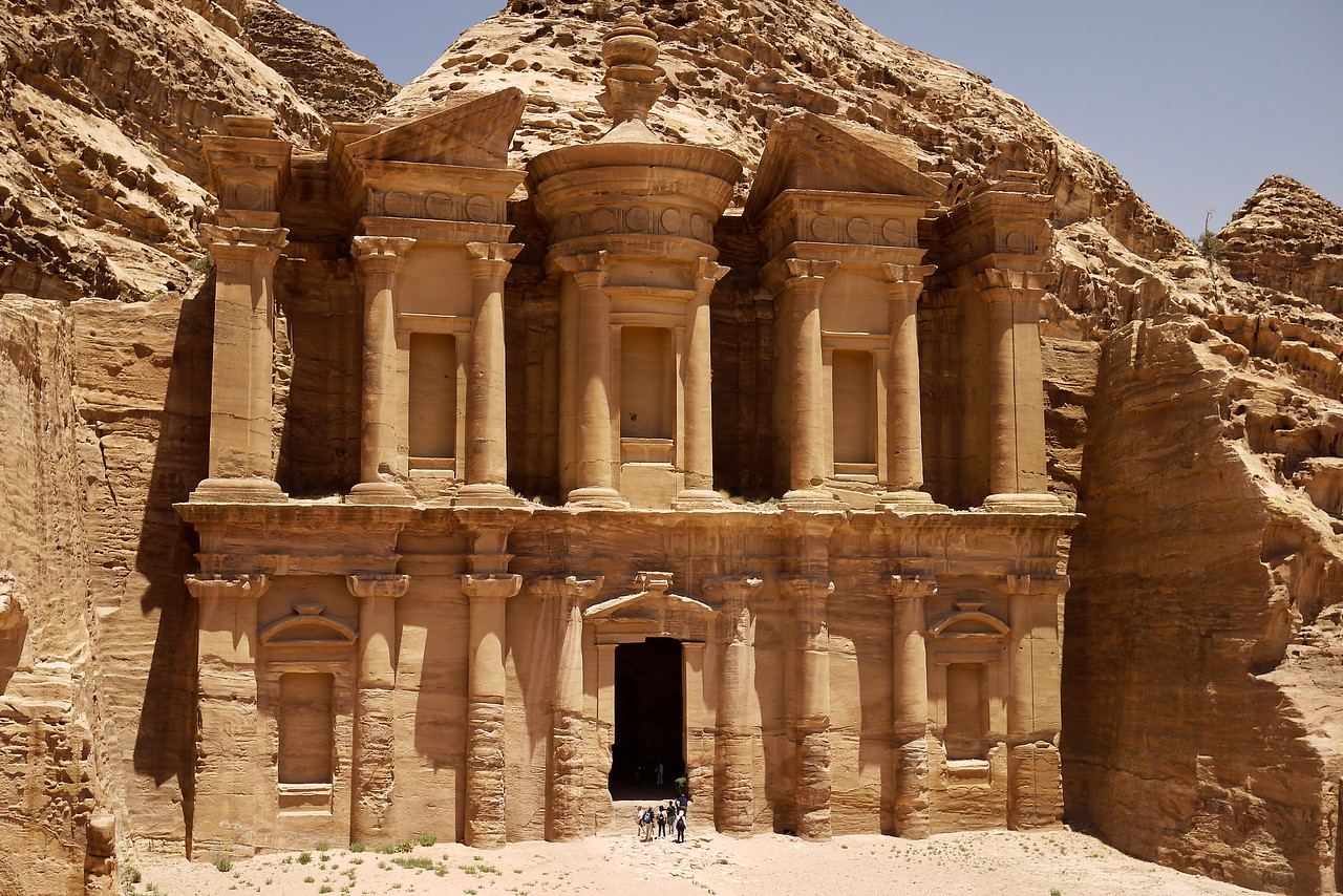 The pretty, pretty Monastery in Petra, Jordan.