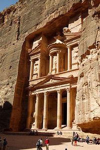 Treasury in Petra, Jordan.