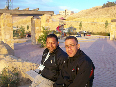 My wonderful driver and guide throughout Jordan