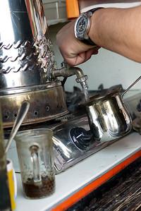 Tea and coffee prepared to order in Jordan