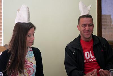 Jodi and Rami goof around, Jordan