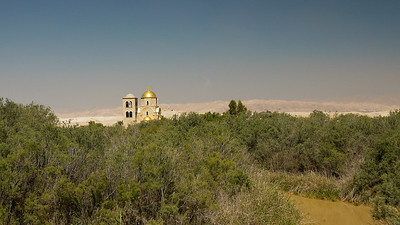 Greek Orthodox Church of St John the Baptist at Bethany Beyond the Jordan, near The Dead Sea