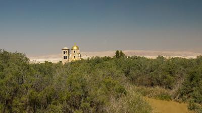 Greek Orthodox Church of St John the Baptist at Bethany Beyond the Jordan, near The Dead Sea