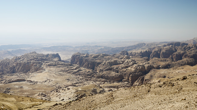 Vast vistas of Wadi Rum, Jordan