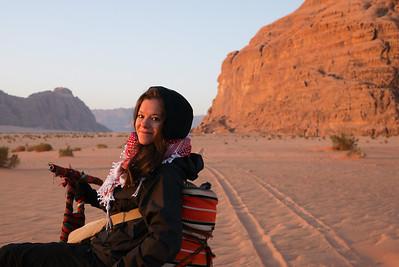 Jodi @LegalNomads in Wadi Rum, Jordan