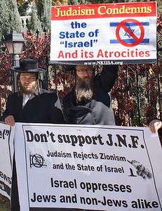 Jewish National Fund protest '13 (2)