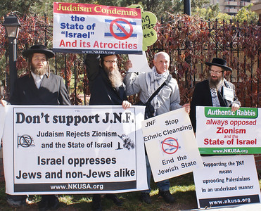 Jewish National Fund protest '13 (1)