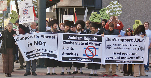 Jewish National Fund protest '13 (40)