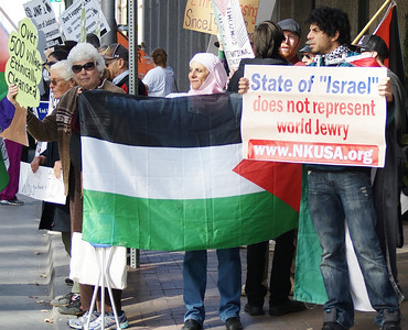 Jewish National Fund protest '13 (32)