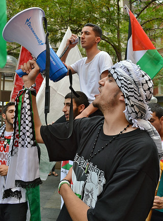 Palestinian Protest-Denver,Co-7/19/14