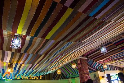 Interior of Palms Cafe in Bethlehem