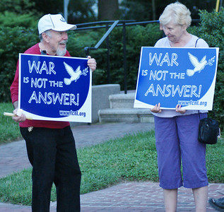 Anti Syria war protest Lewes, DE '13 (5)