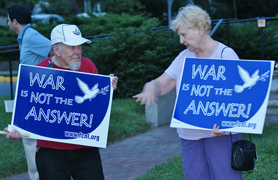 Anti Syria war protest Lewes, DE '13 (4)