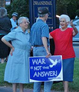 Anti Syria war protest Lewes, DE '13 (10)