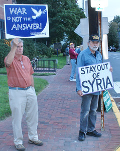 Anti Syria war protest Lewes, DE '13 (8)