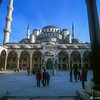 Blue Mosque - Courtyard<br /> Istanbul, Turkey<br /> 700-39-4