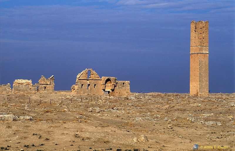 Ulu Cami Mosque Ruins - 8C AD (Oldest Mosque in Anatolia)<br /> Harran, Anatolia, Turkey