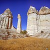 Fairy Chimneys<br /> Tufa Valley, Goreme, Turkey