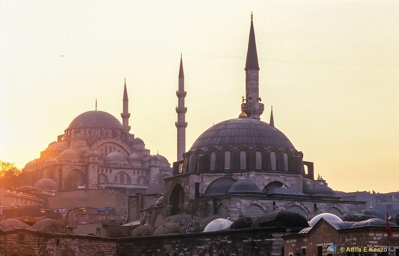 Suleyman Mosque<br /> Istanbul, Turkey