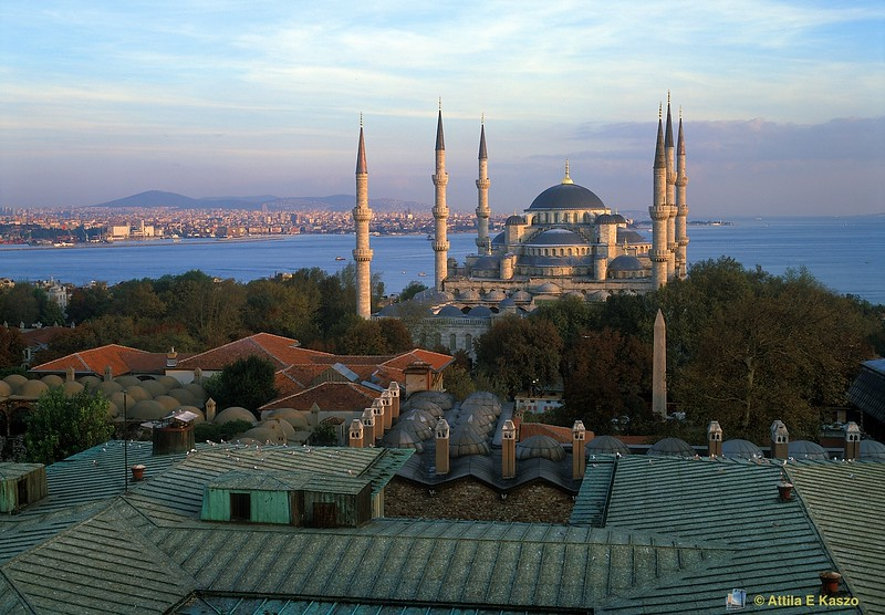 Blue Mosque<br /> Istanbul, Turkey<br /> 700-39-1