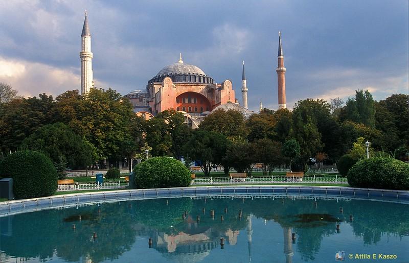 Sancta Sophia  548 AD<br /> Istanbul, Turkey