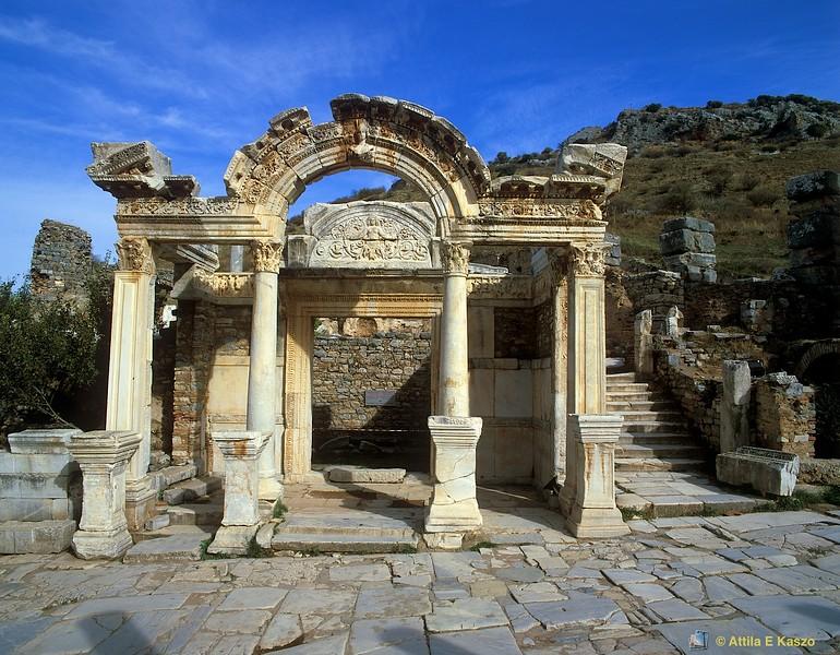 Temple Of Hadrian - 5C AD<br /> Ephesus, Turkey