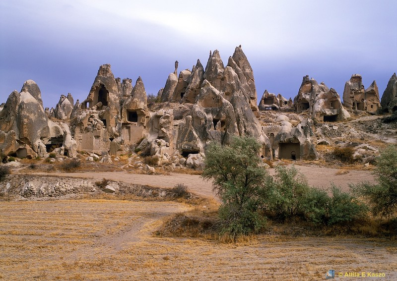 Tufa Chimneys<br /> Cappadocia, Turkey