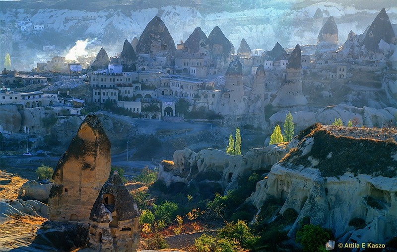 Goreme Village<br /> Turkey