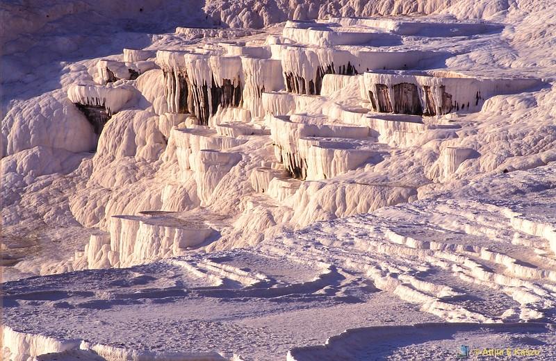 Calcite Springs<br /> Pamukkale, Turkey