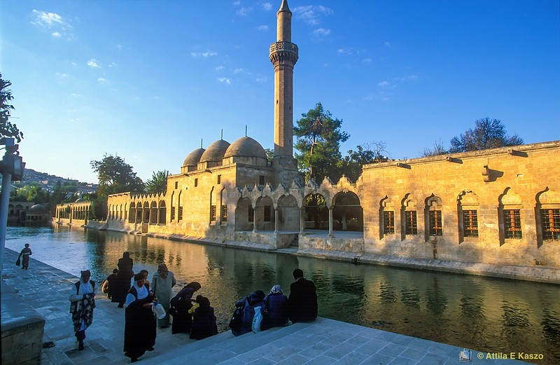 Rizvaniye Mosque<br /> Sanliurfa, Turkey