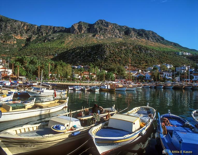 Boat Harbour<br /> Kas, Turkey